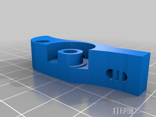 鲍登挤出机 3D模型  图6