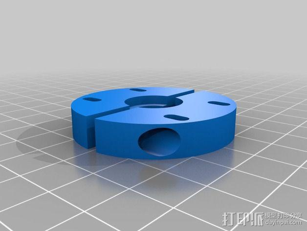 喷头支架 3D模型  图2