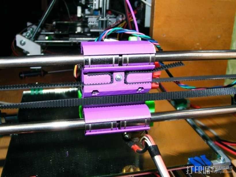 侧边锁固装置 3D模型  图1