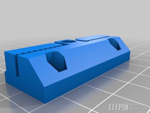 侧边锁固装置 3D模型  图7