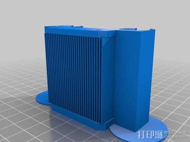 侧边锁固装置 3D模型  图5