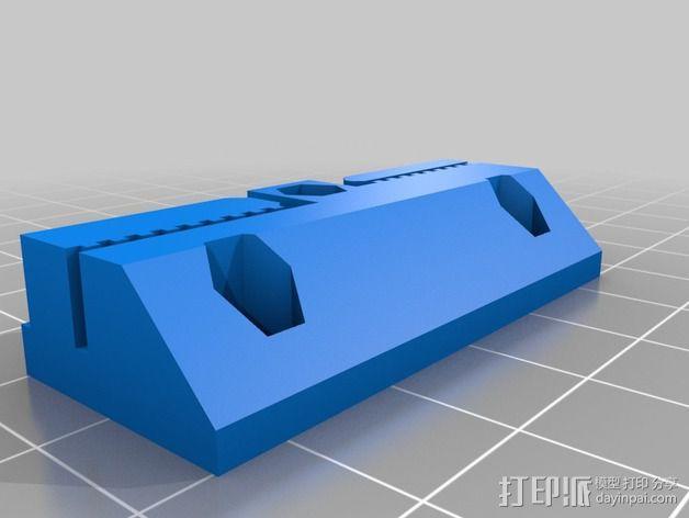 侧边锁固装置 3D模型  图8