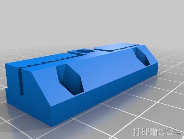 侧边锁固装置 3D模型  图9