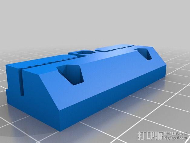 侧边锁固装置 3D模型  图10