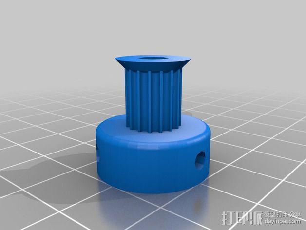 侧边锁固装置 3D模型  图11