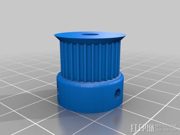 侧边锁固装置 3D模型  图14