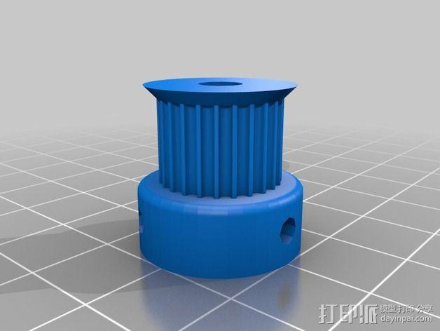 侧边锁固装置 3D模型  图13