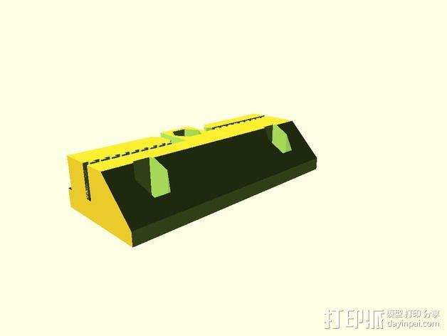 侧边锁固装置 3D模型  图16