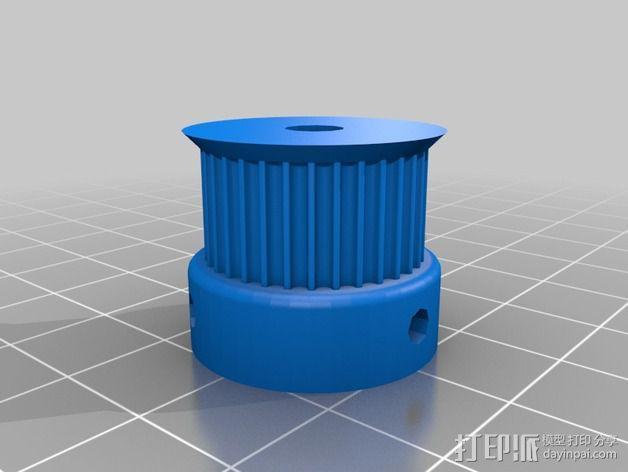 侧边锁固装置 3D模型  图15