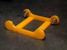 线轴架 3D模型