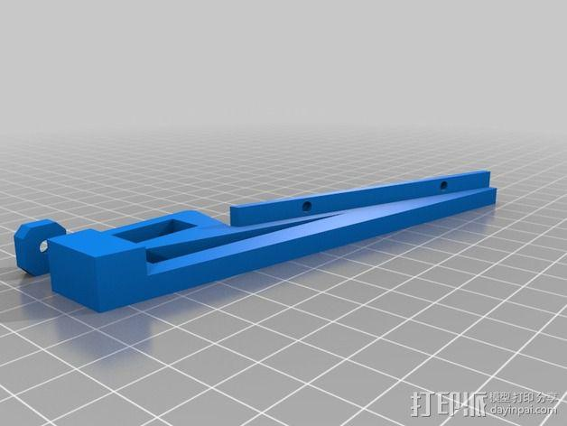 液晶显示屏外框 3D模型  图2