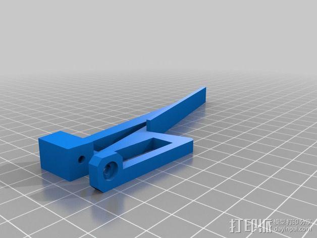 液晶显示屏外框 3D模型  图3