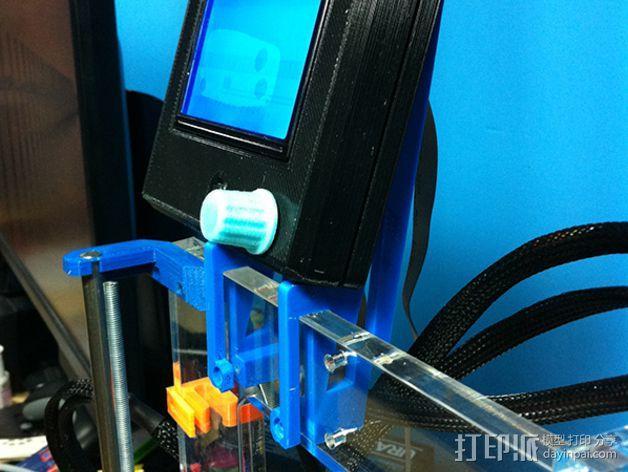 液晶显示屏外框 3D模型  图5