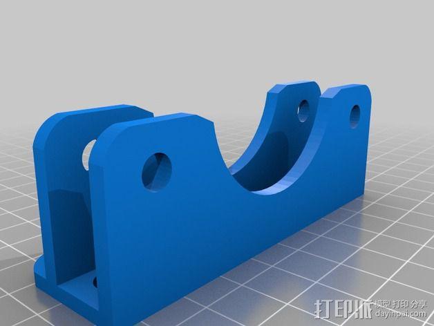 微型线轴架 3D模型  图1