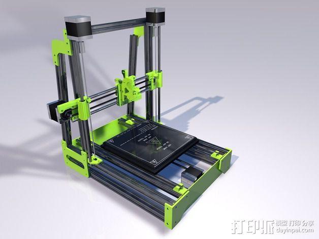 MendelMax 2.0打印机部件 3D模型  图1