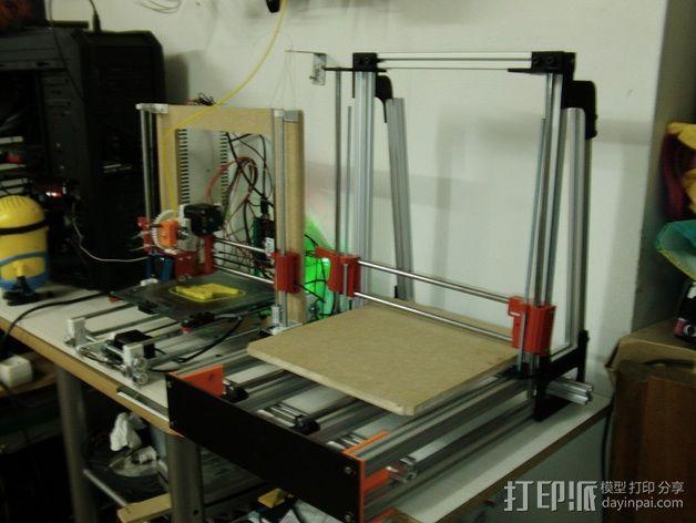 MendelMax 2.0打印机部件 3D模型  图2