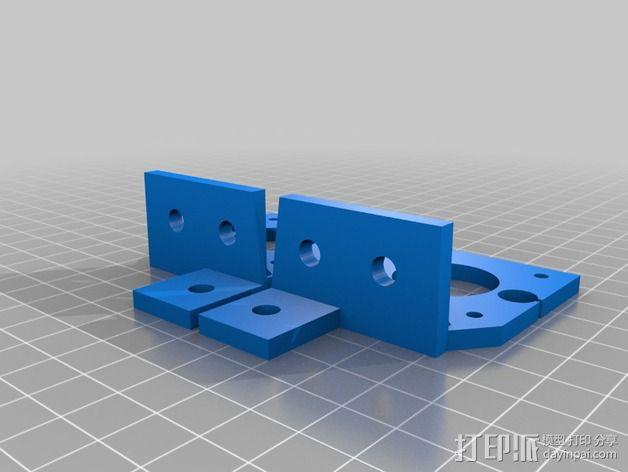 MendelMax 2.0打印机部件 3D模型  图3