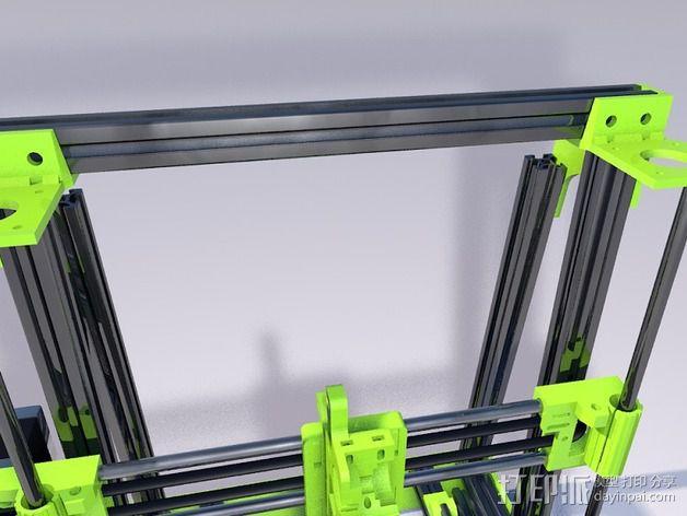 MendelMax 2.0打印机部件 3D模型  图4