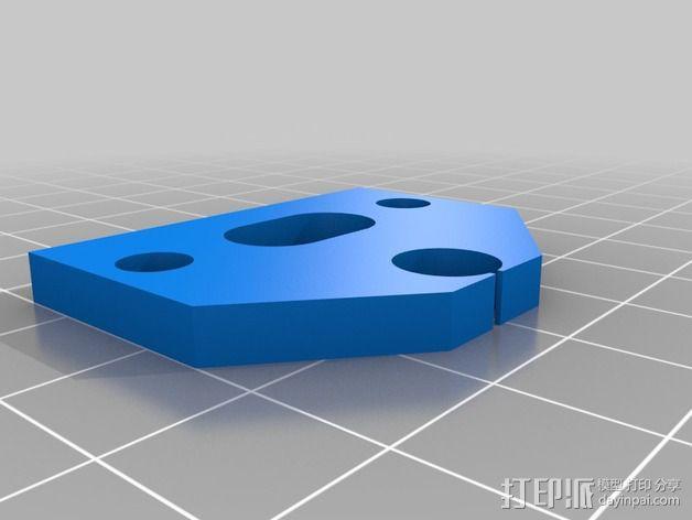 MendelMax 2.0打印机部件 3D模型  图8