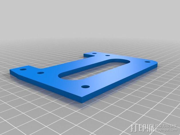 MendelMax 2.0打印机部件 3D模型  图11