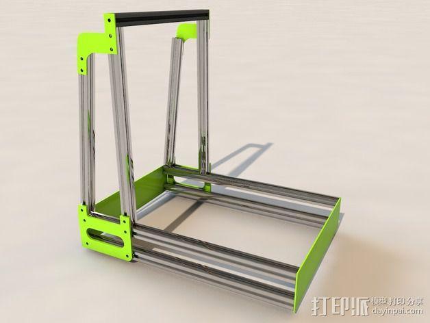 MendelMax 2.0打印机部件 3D模型  图13