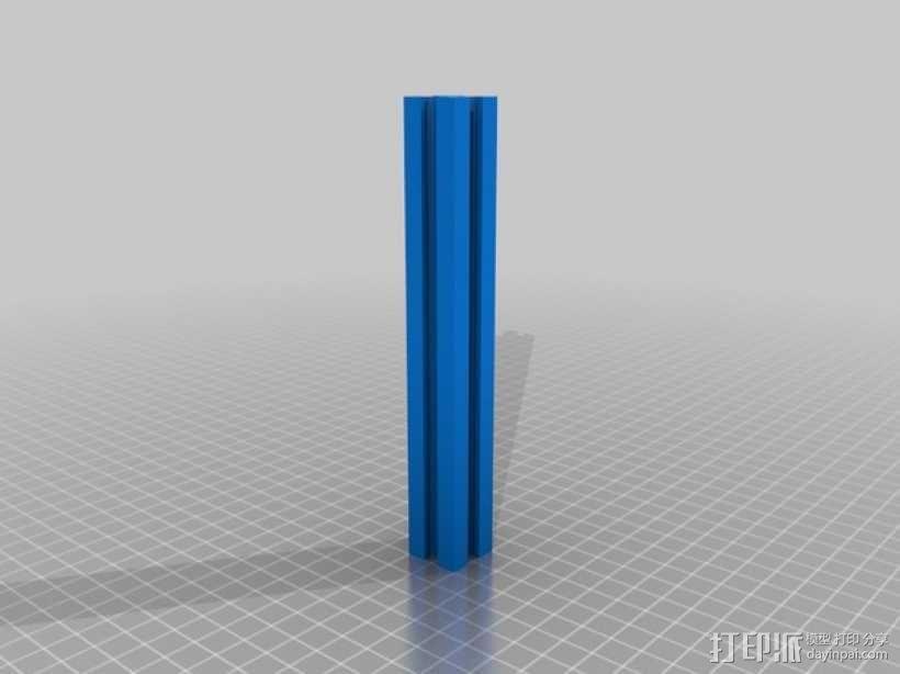 铝型材 3D模型  图1
