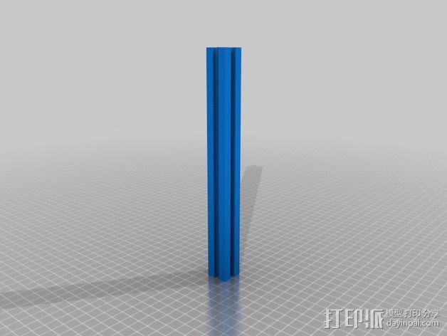 铝型材 3D模型  图2