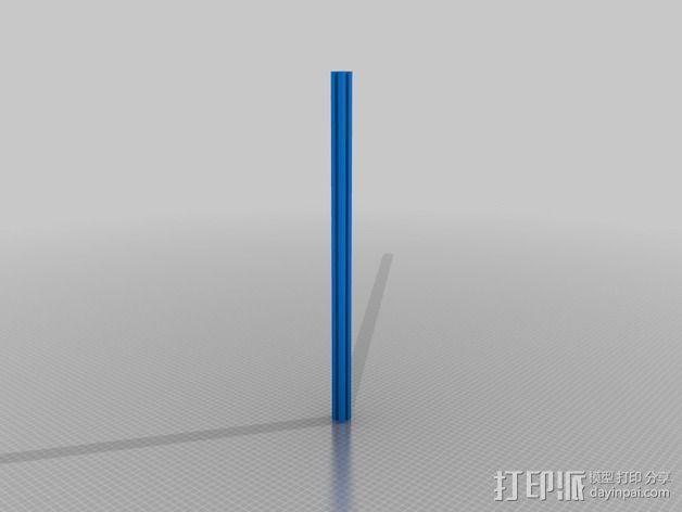 铝型材 3D模型  图4