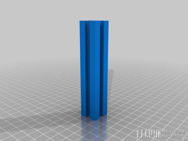 铝型材 3D模型  图3