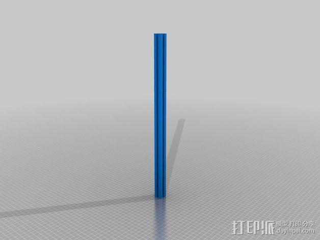 铝型材 3D模型  图5