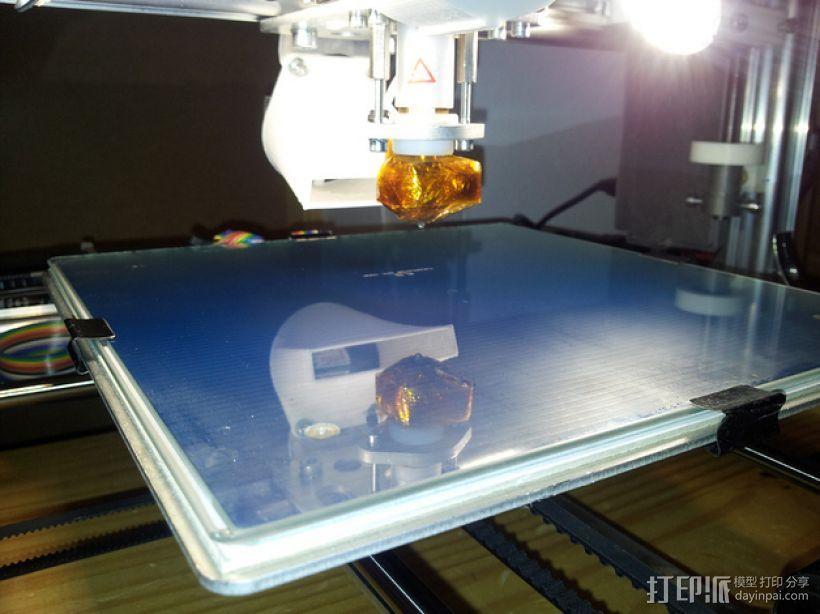 打印机热床垫板 3D模型  图1