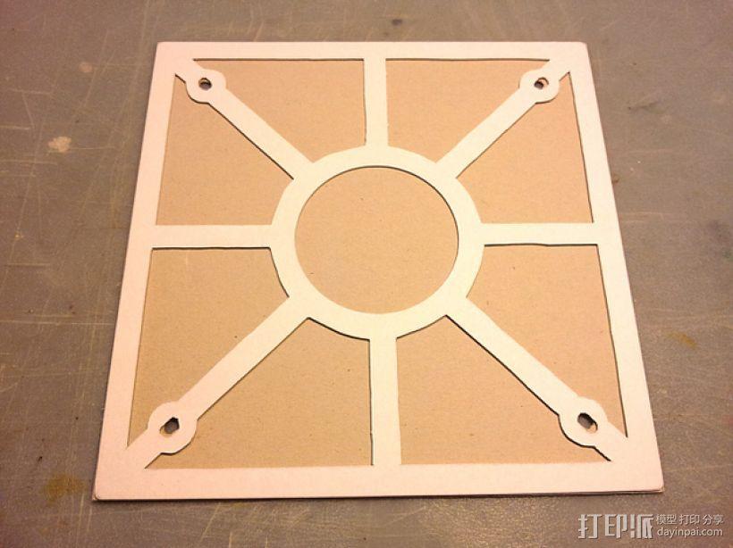打印机热床垫板 3D模型  图8