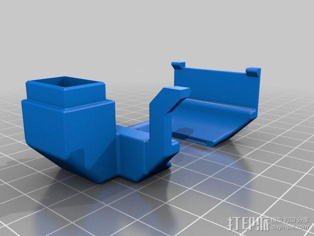 风扇导管 3D模型  图4
