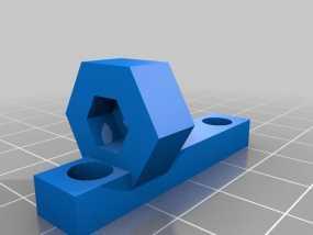 Z轴止动臂 3D模型