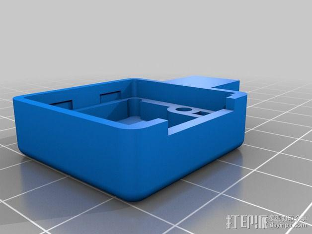 Raspberry Pi 树莓派相机支架 3D模型  图4