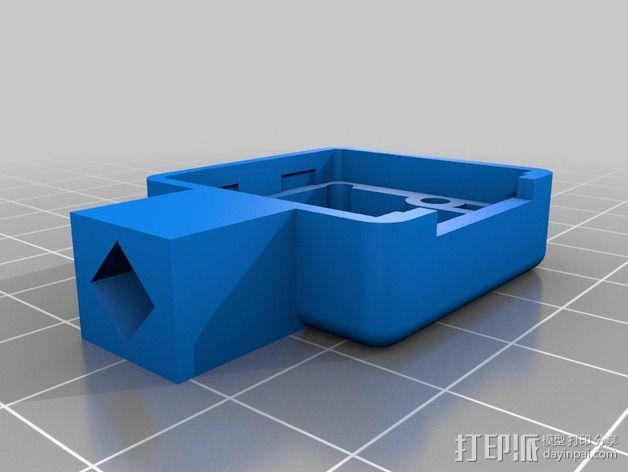 Raspberry Pi 树莓派相机支架 3D模型  图6