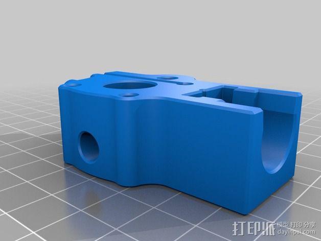 挤出机 送料器 3D模型  图2
