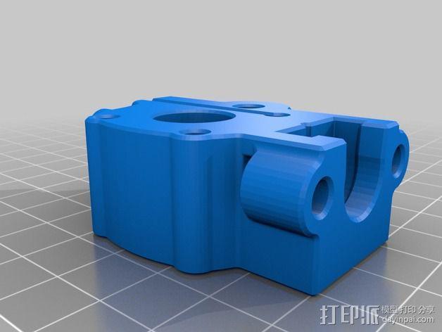 挤出机 送料器 3D模型  图4