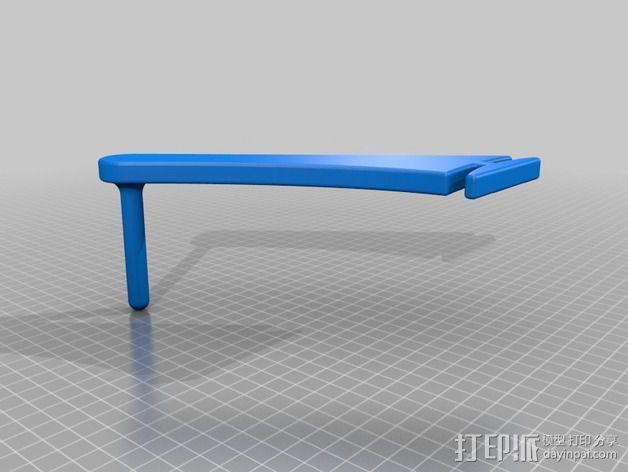 线轴架 导线器 3D模型  图3