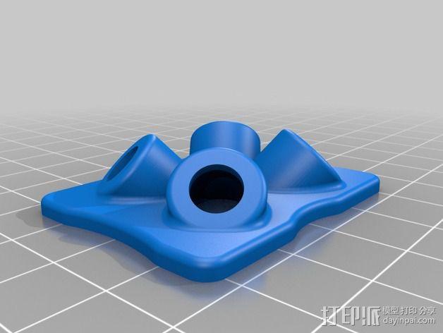 防震支架 3D模型  图2