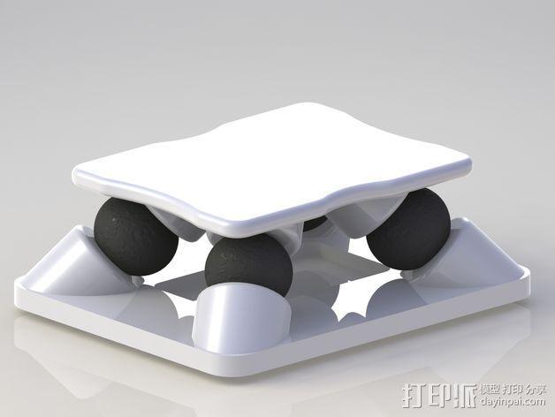 防震支架 3D模型  图1