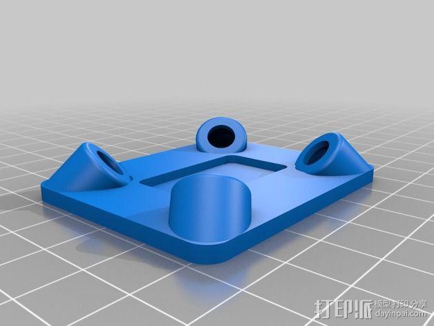 防震支架 3D模型  图3