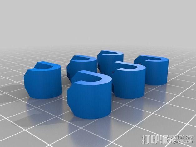 弹簧夹 3D模型  图3