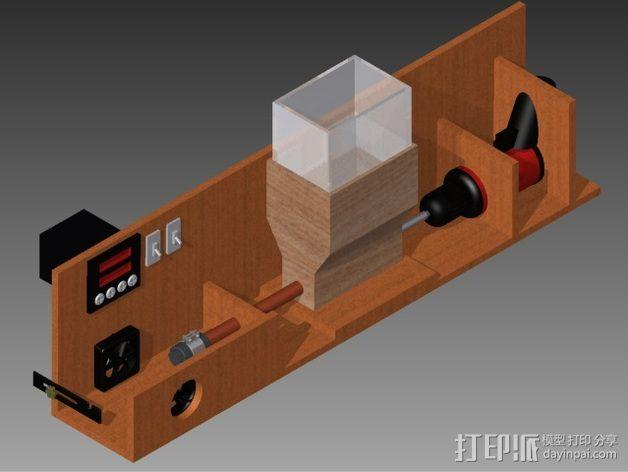 材料挤出机 3D模型  图1