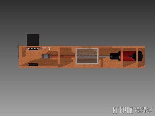材料挤出机 3D模型  图2