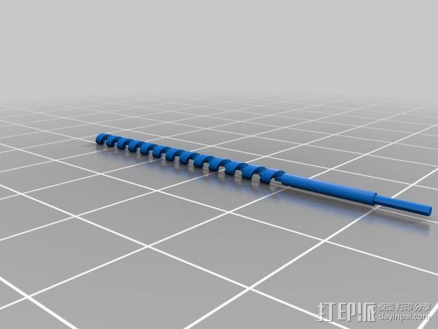材料挤出机 3D模型  图8
