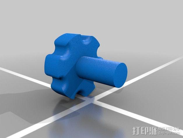 材料挤出机 3D模型  图17
