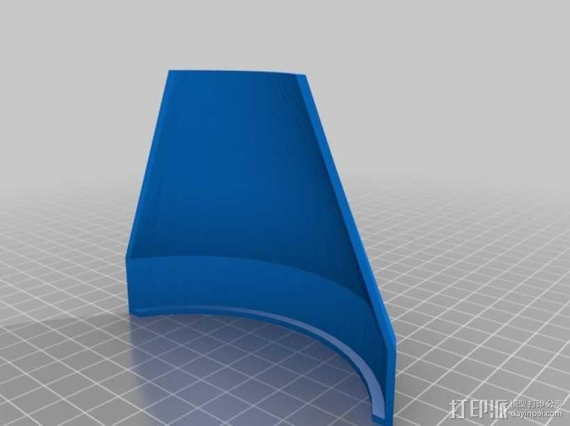 Prusa i3 打印机风扇 3D模型  图1