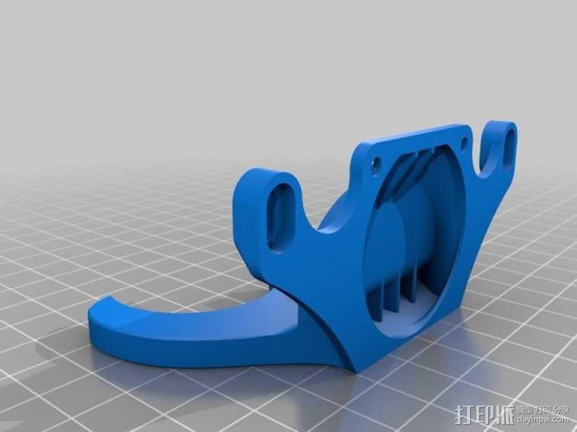 风扇散热导管 3D模型  图8