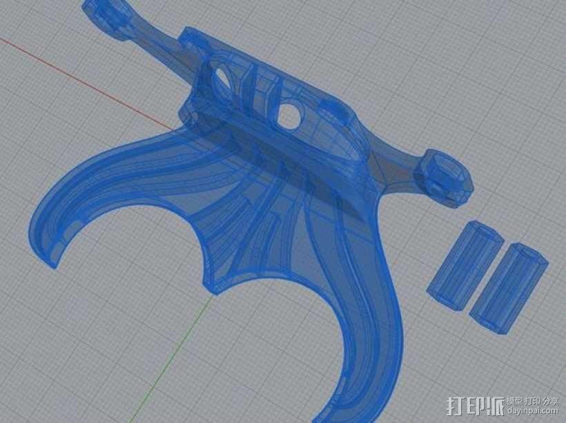 风扇散热导管 3D模型  图7